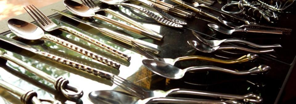 Thai silverware